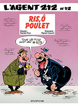 L'Agent 212 Vol. 12: RIS,O POULET