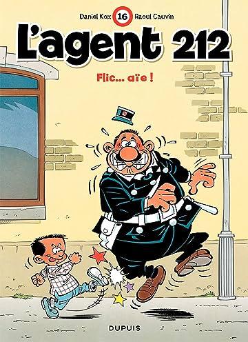 L'Agent 212 Vol. 16: FLIC...AIE!