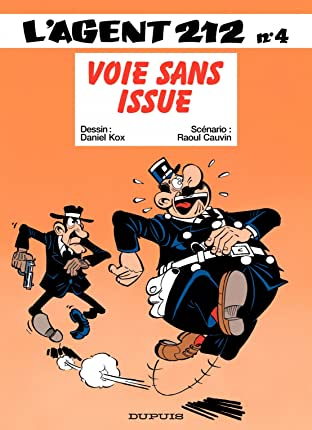L'Agent 212 Vol. 4: VOIE SANS ISSUE