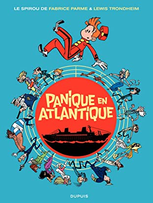 Le Spirou de ... Vol. 6: Panique en Atlantique