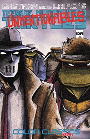 Teenage Mutant Ninja Turtles: Color Classics Tome 2 No.2