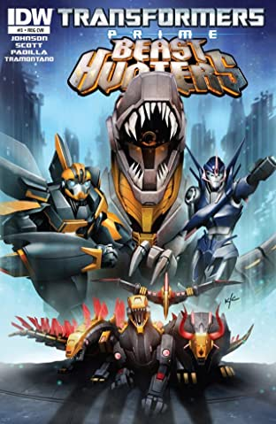 Transformers: Prime - Beast Hunters #8 (of 8)