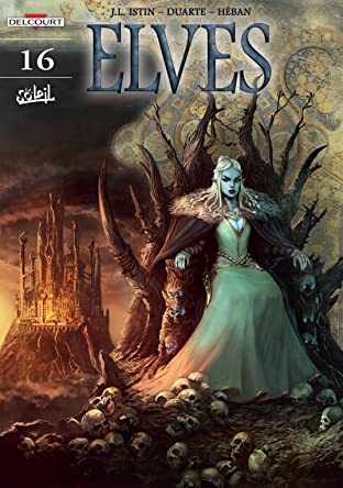 Elves Tome 16: Red Like Lava