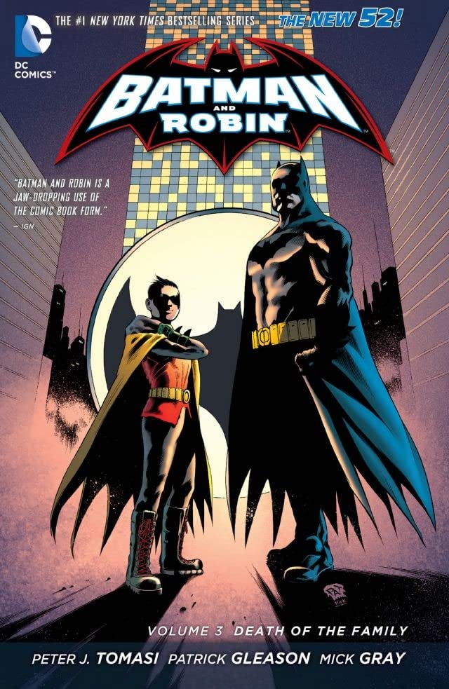 Batman and Robin (2011-2015) Vol. 3: Death of the Family