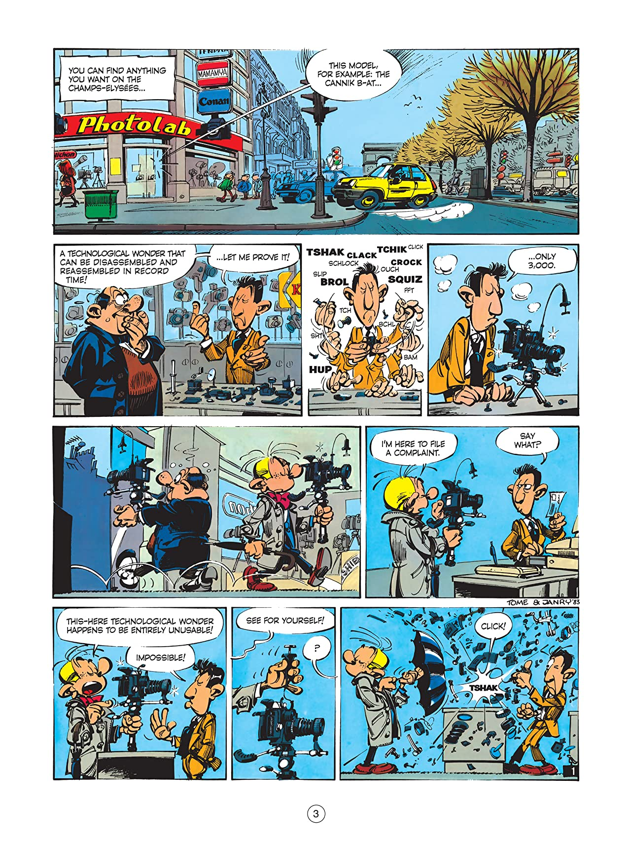 Spirou & Fantasio Vol. 12: Who will stop Cyanide ?