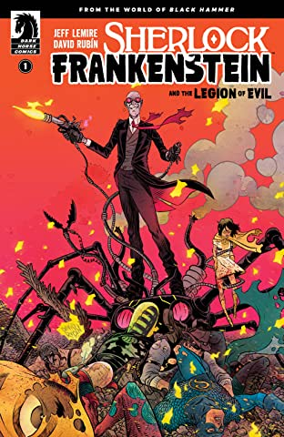 Sherlock Frankenstein & The Legion of Evil: From the World of Black Hammer No.1