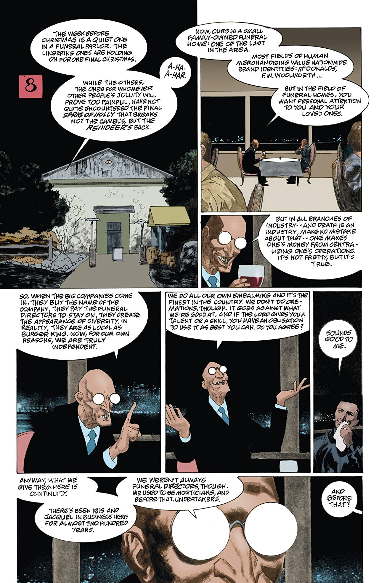 American Gods: Shadows #8