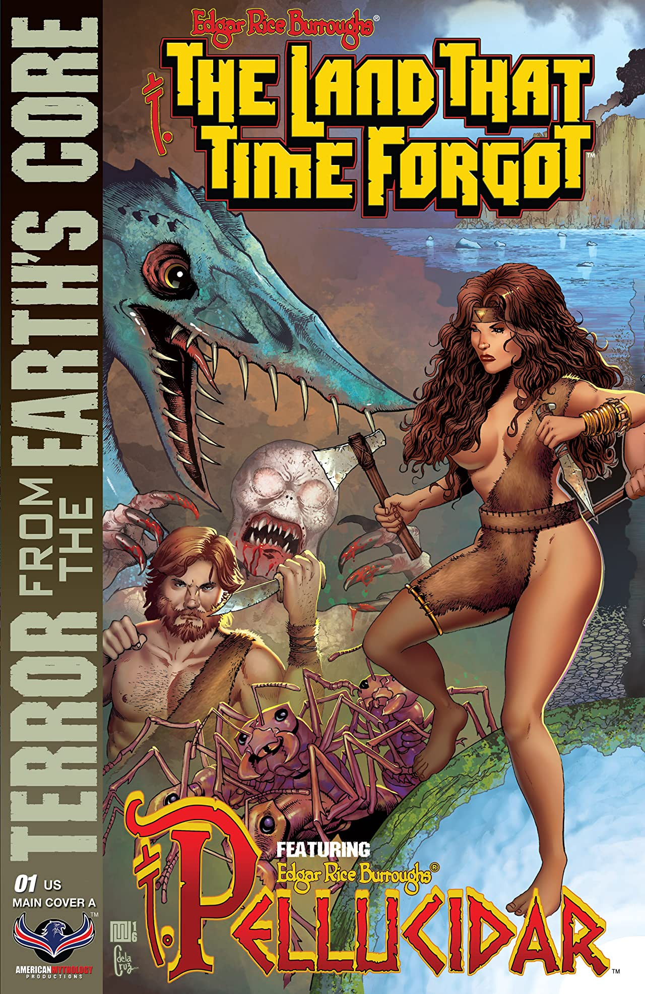 The Land That Time Forgot: Terror From The Earth's Core #1