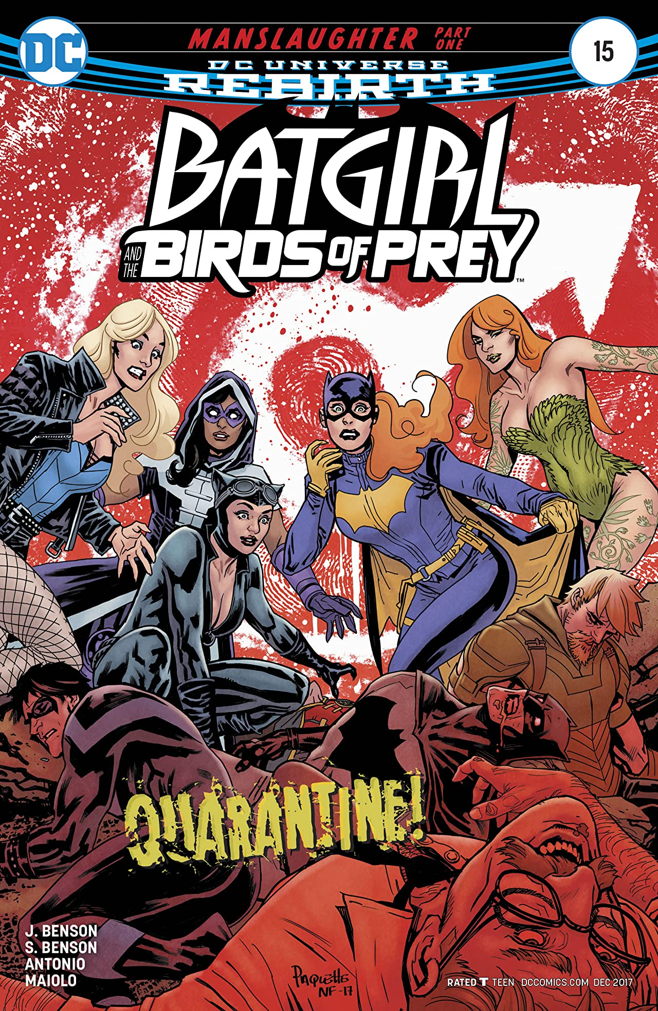 Batgirl and the Birds of Prey (2016-2018) #15