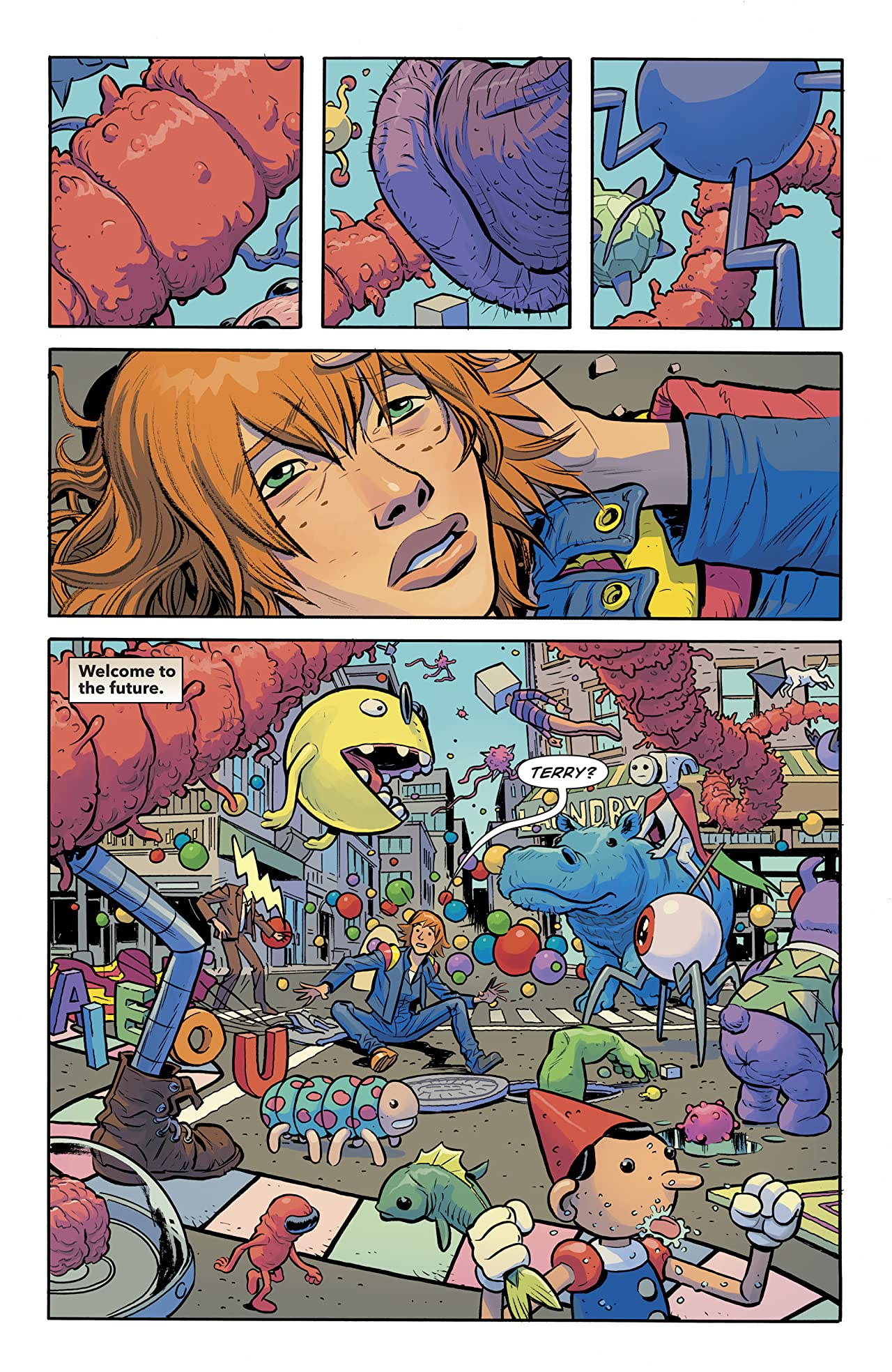 Doom Patrol (2016-) #10