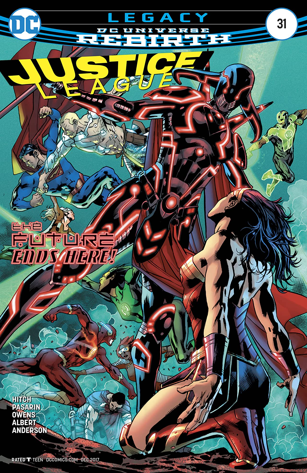 Justice League (2016-) No.31
