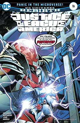 Justice League of America (2017-2018) #16