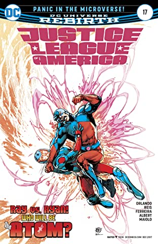 Justice League of America (2017-2018) #17