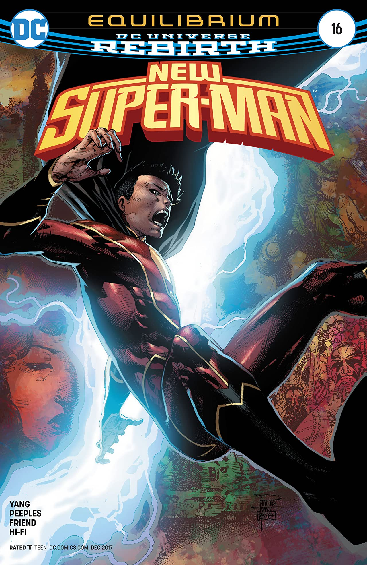 New Super-Man (2016-2018) #16