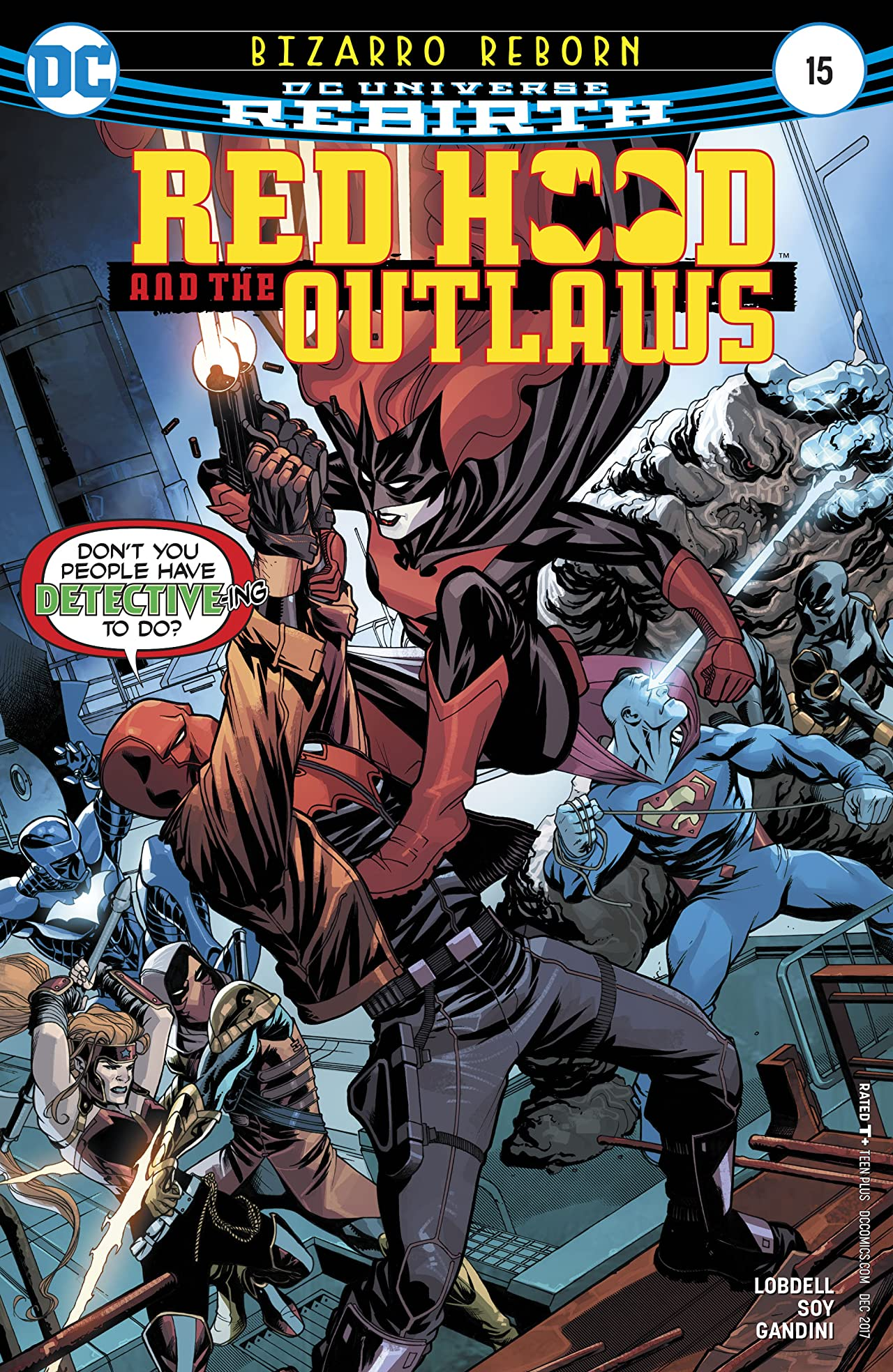Red Hood and the Outlaws (2016-) #15