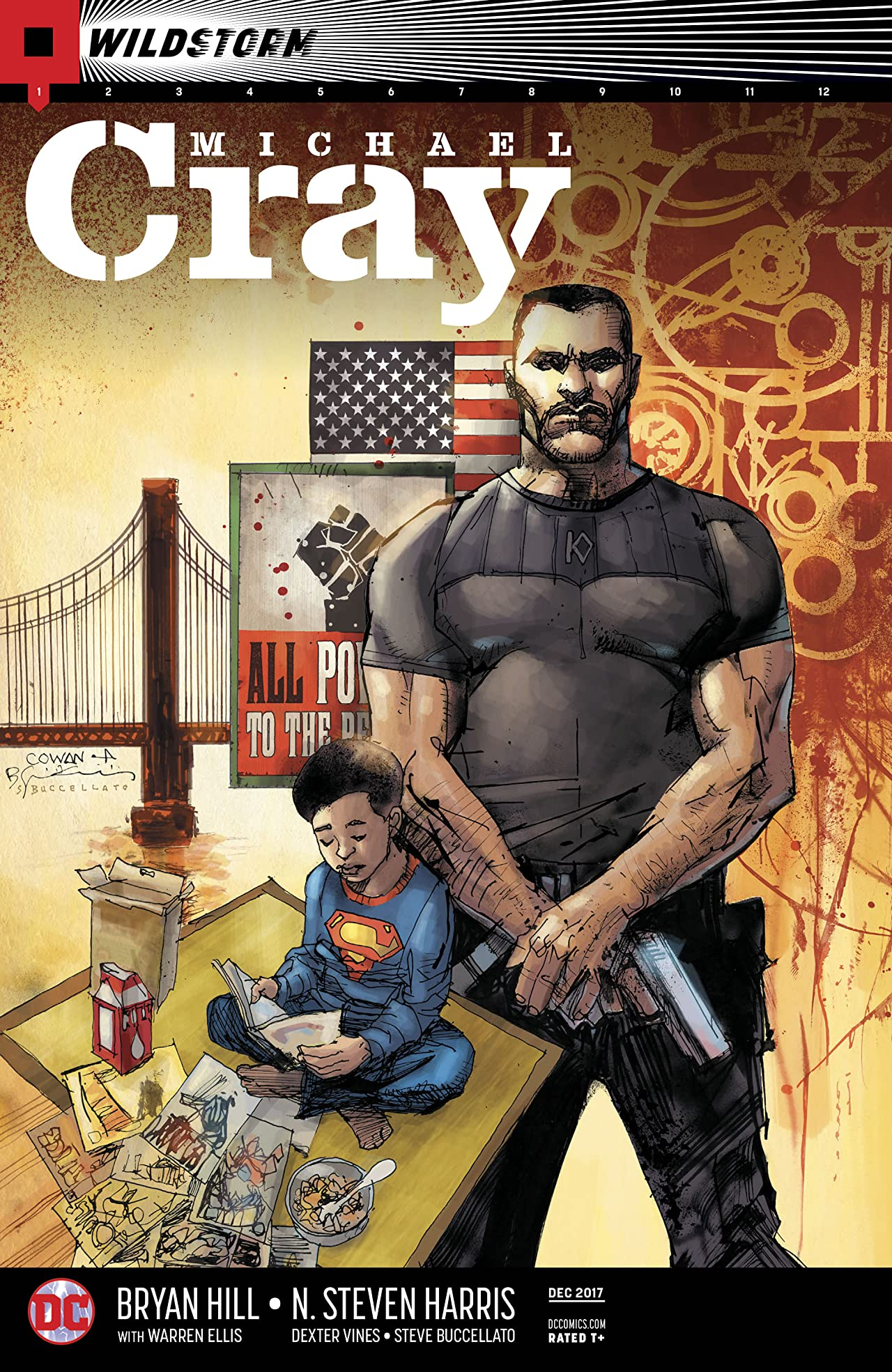 The Wild Storm: Michael Cray (2017-) #1