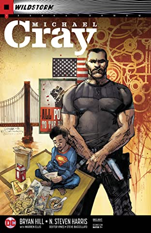 The Wild Storm: Michael Cray (2017-) No.1