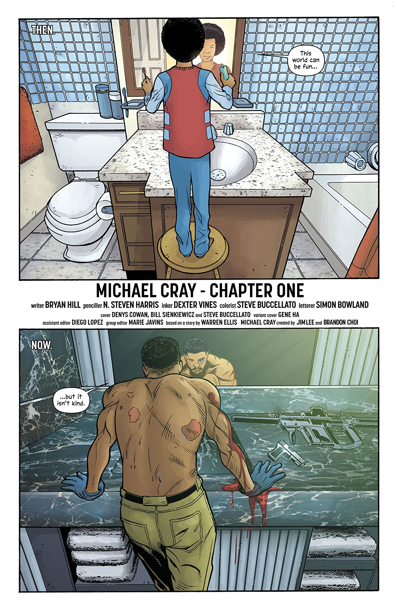 The Wild Storm: Michael Cray (2017-2018) #1