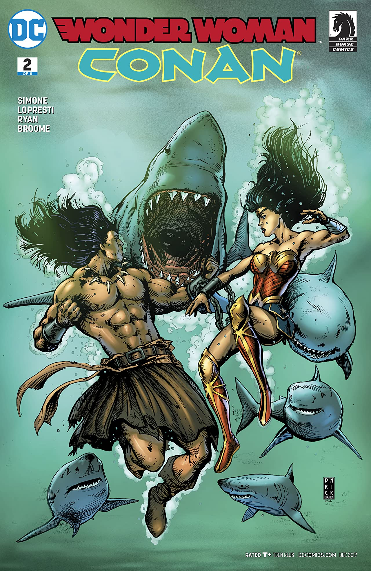 Wonder Woman/Conan (2017-2018) #2