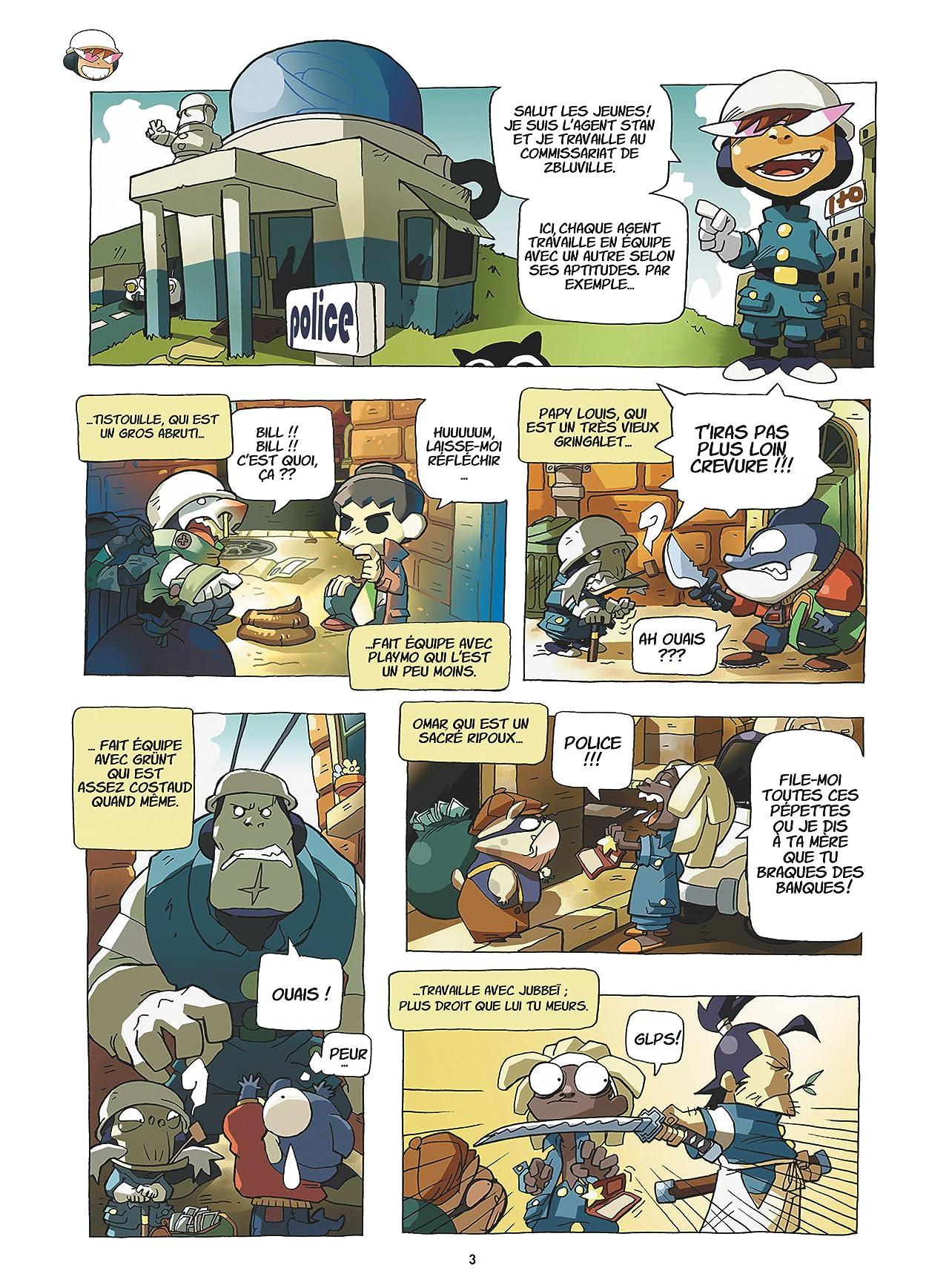 Zblucops Vol. 1: Mystères et crottes de nez