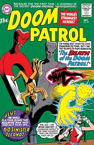 Doom Patrol (1964-1968) No.98