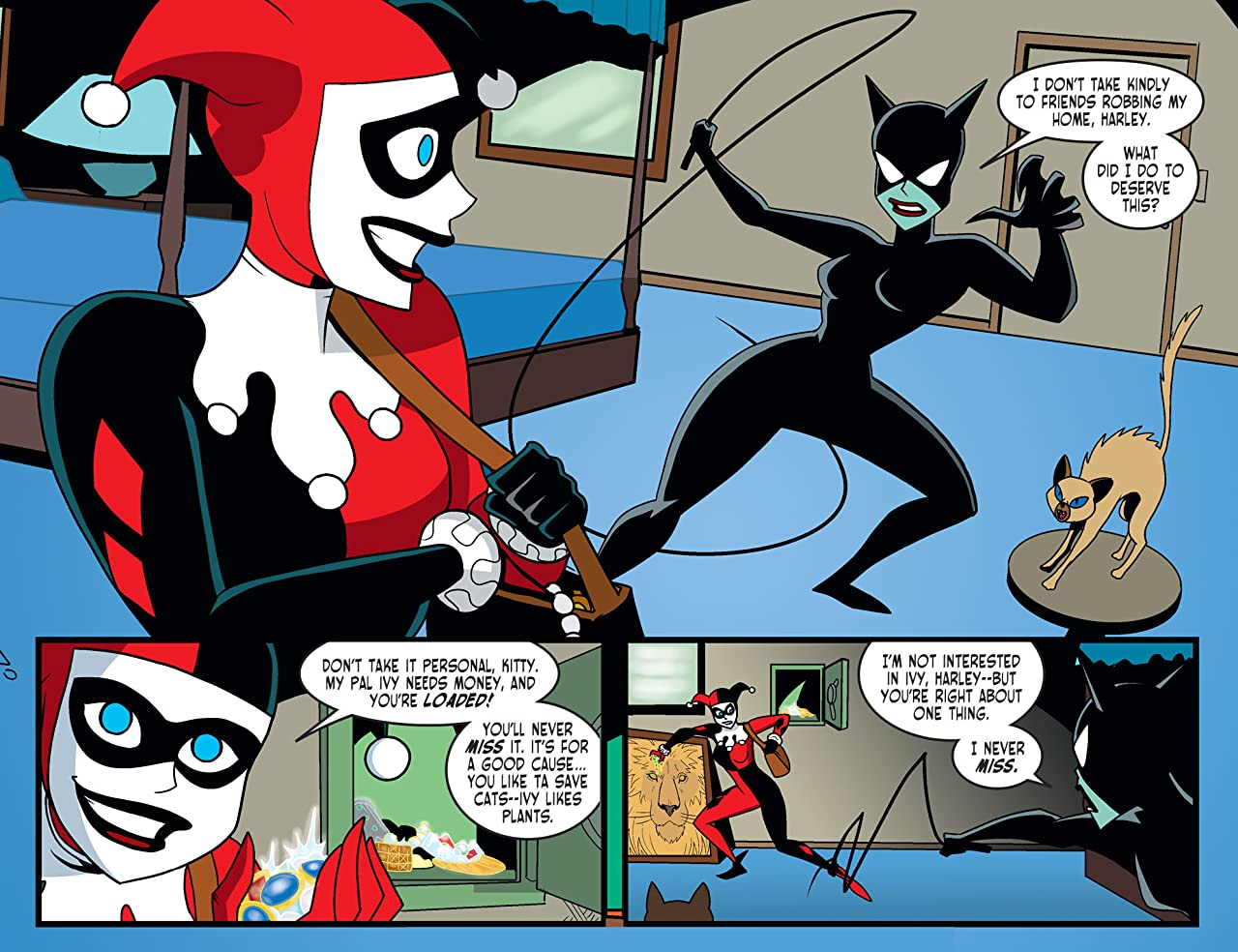 Harley Quinn and Batman (2017-) #3