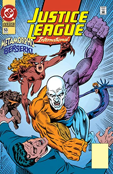 Justice League International (1989-1993) #53
