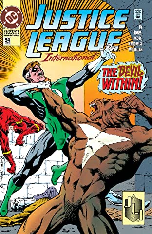 Justice League International (1989-1993) #54