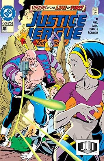 Justice League International (1989-1993) #55