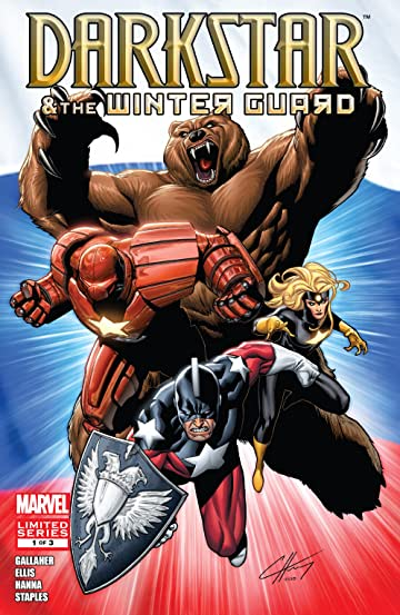 Darkstar and the Winter Guard (2010) #1 (of 3)