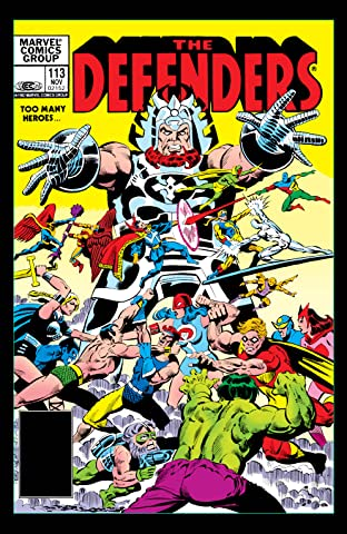 Defenders (1972-1986) #113
