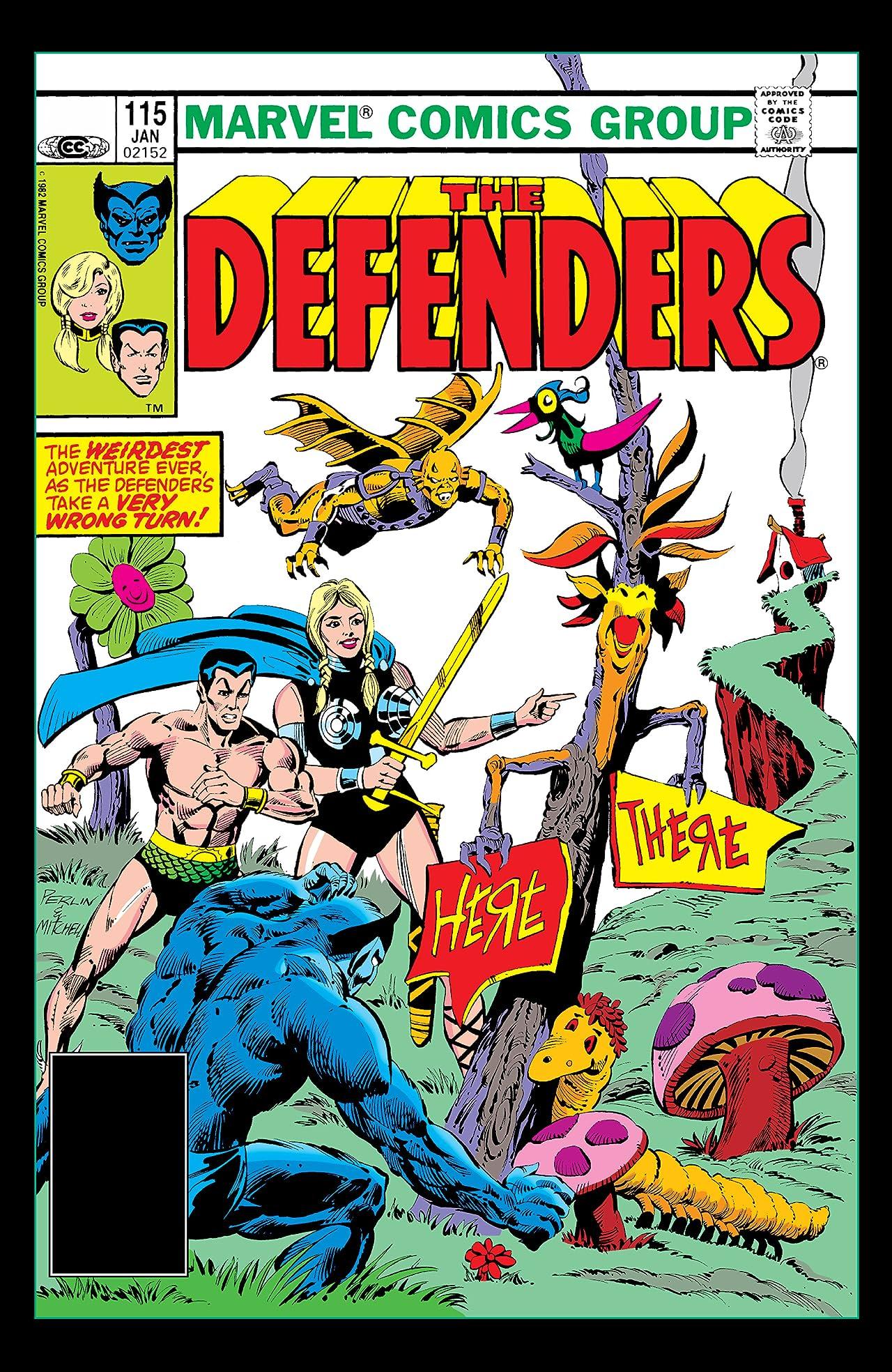Defenders (1972-1986) #115