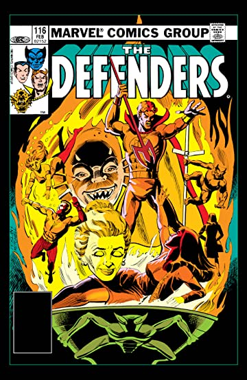 Defenders (1972-1986) #116