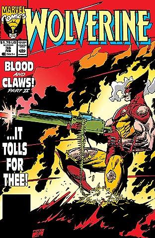 Wolverine (1988-2003) #36