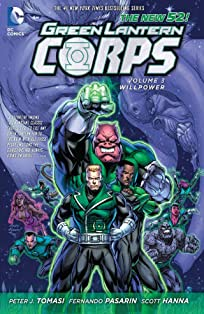 Green Lantern Corps (2011-2015) Vol. 3: Willpower