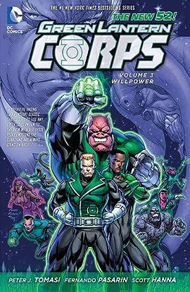 Green Lantern Corps (2011-2015) Vol. 3: Willpower