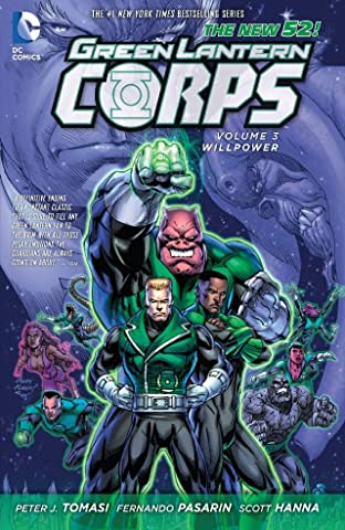 Green Lantern Corps (2011-2015) Tome 3: Willpower
