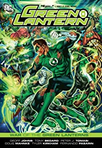 Green Lantern: War of the Green Lanterns