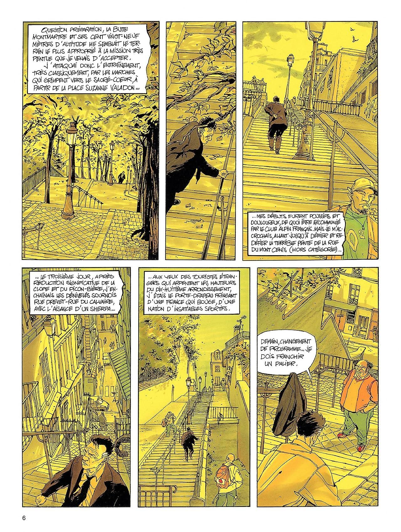 Les Tribulations du Choucas Vol. 1: Trekking payant