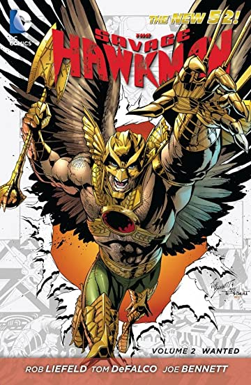 The Savage Hawkman (2011-2013) Vol. 2: Wanted