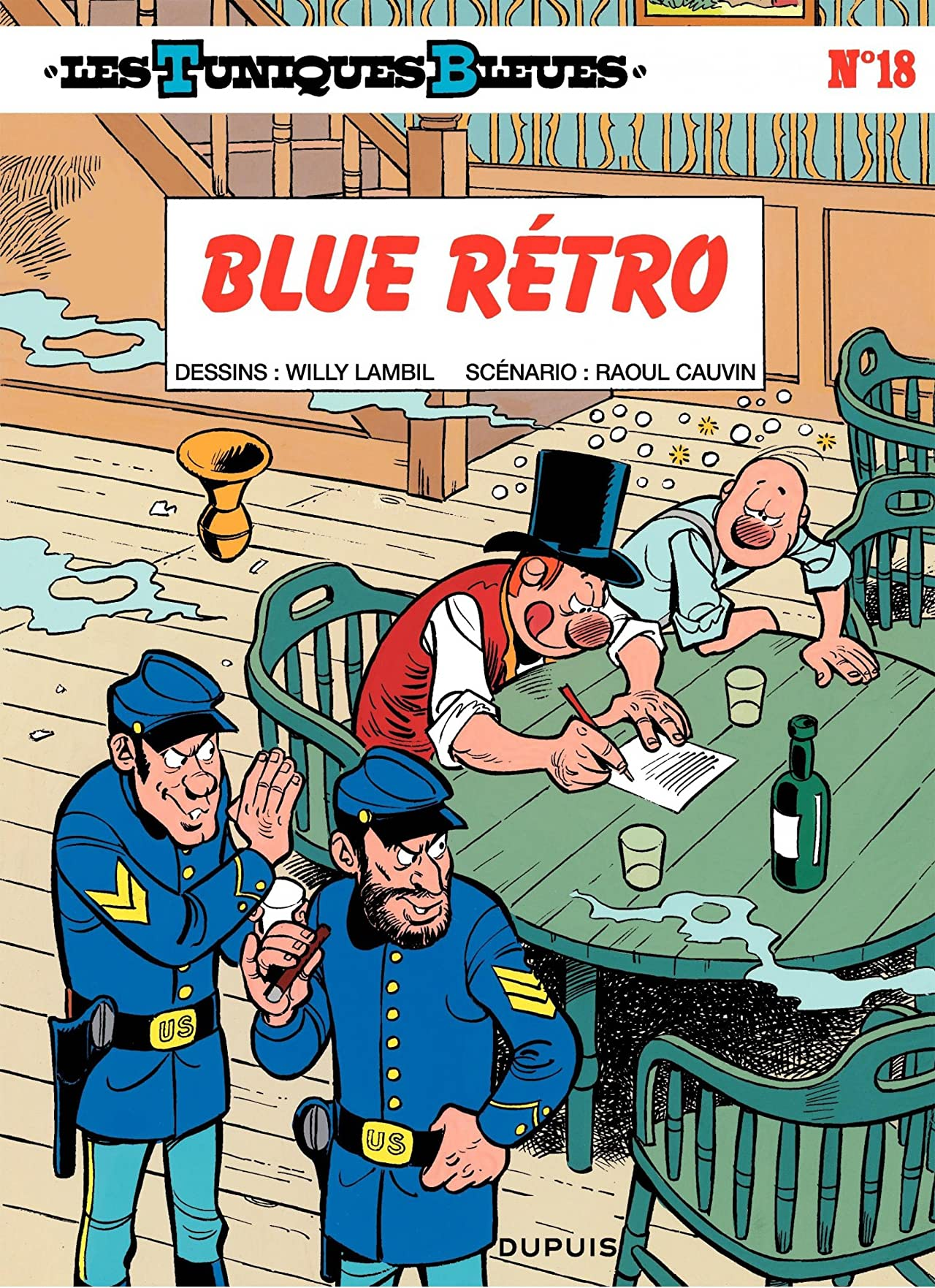 Les Tuniques Bleues Vol. 18: BLUE RETRO