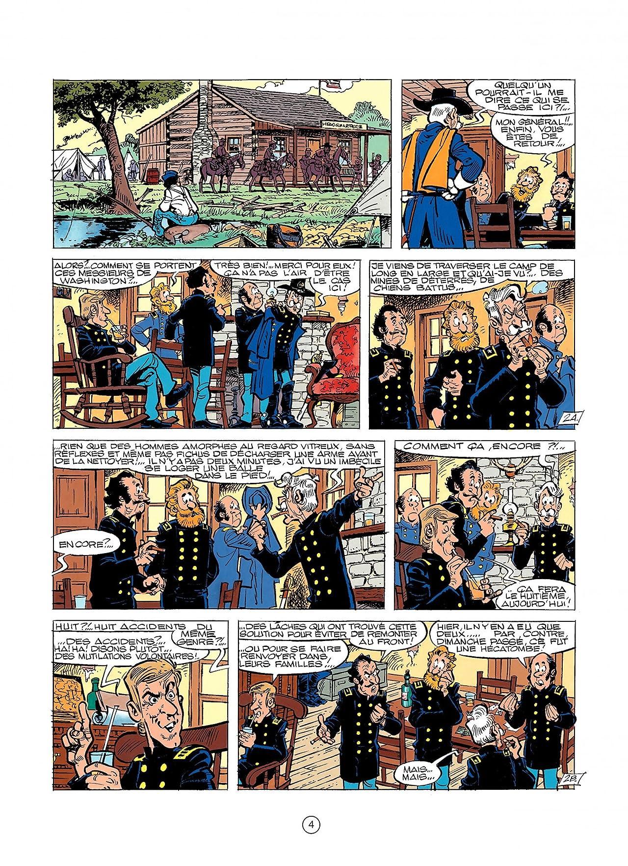 Les Tuniques Bleues Vol. 28: LES BLEUS DE LA BALLE
