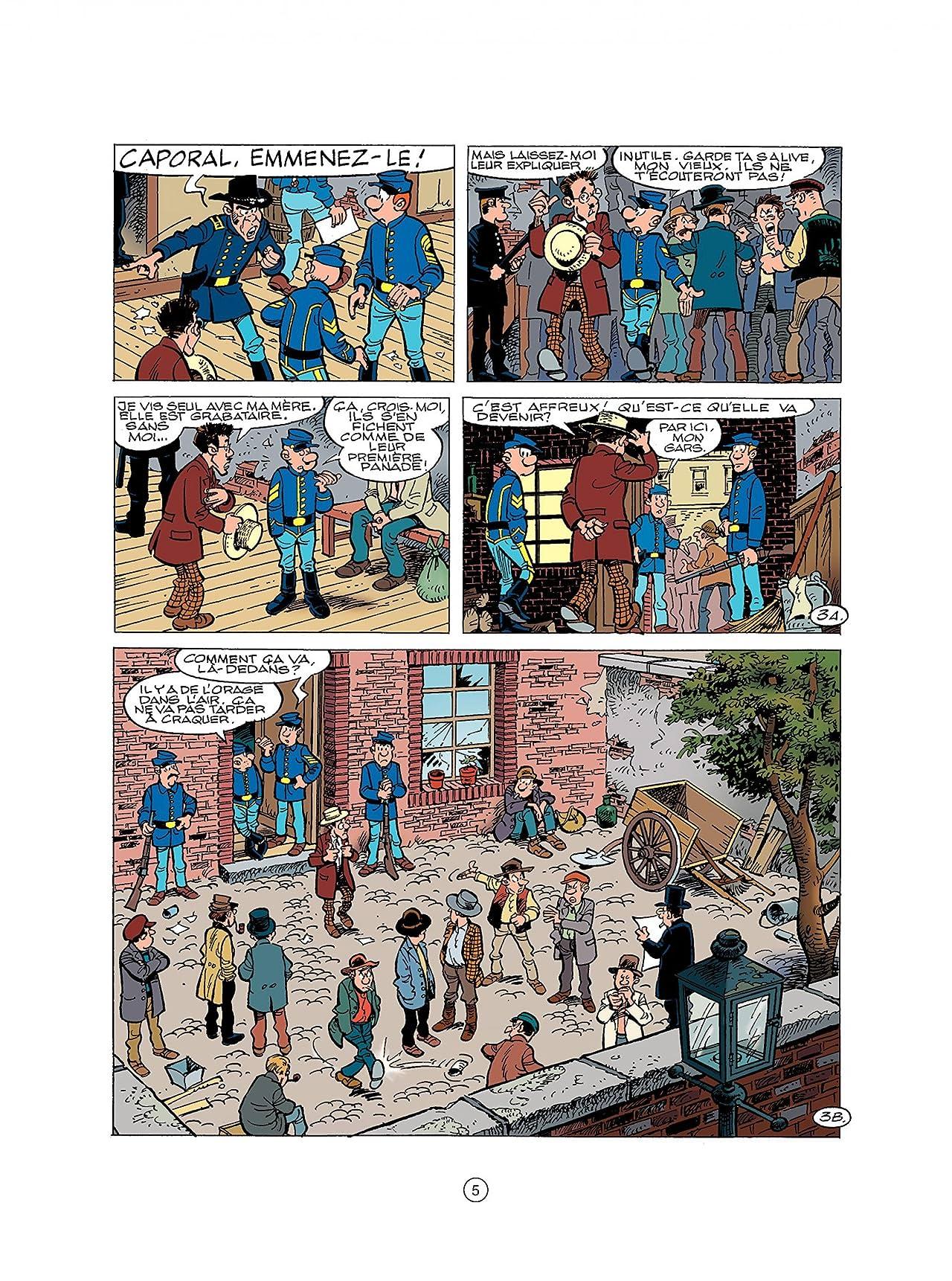 Les Tuniques Bleues Vol. 45: Émeutes à New York