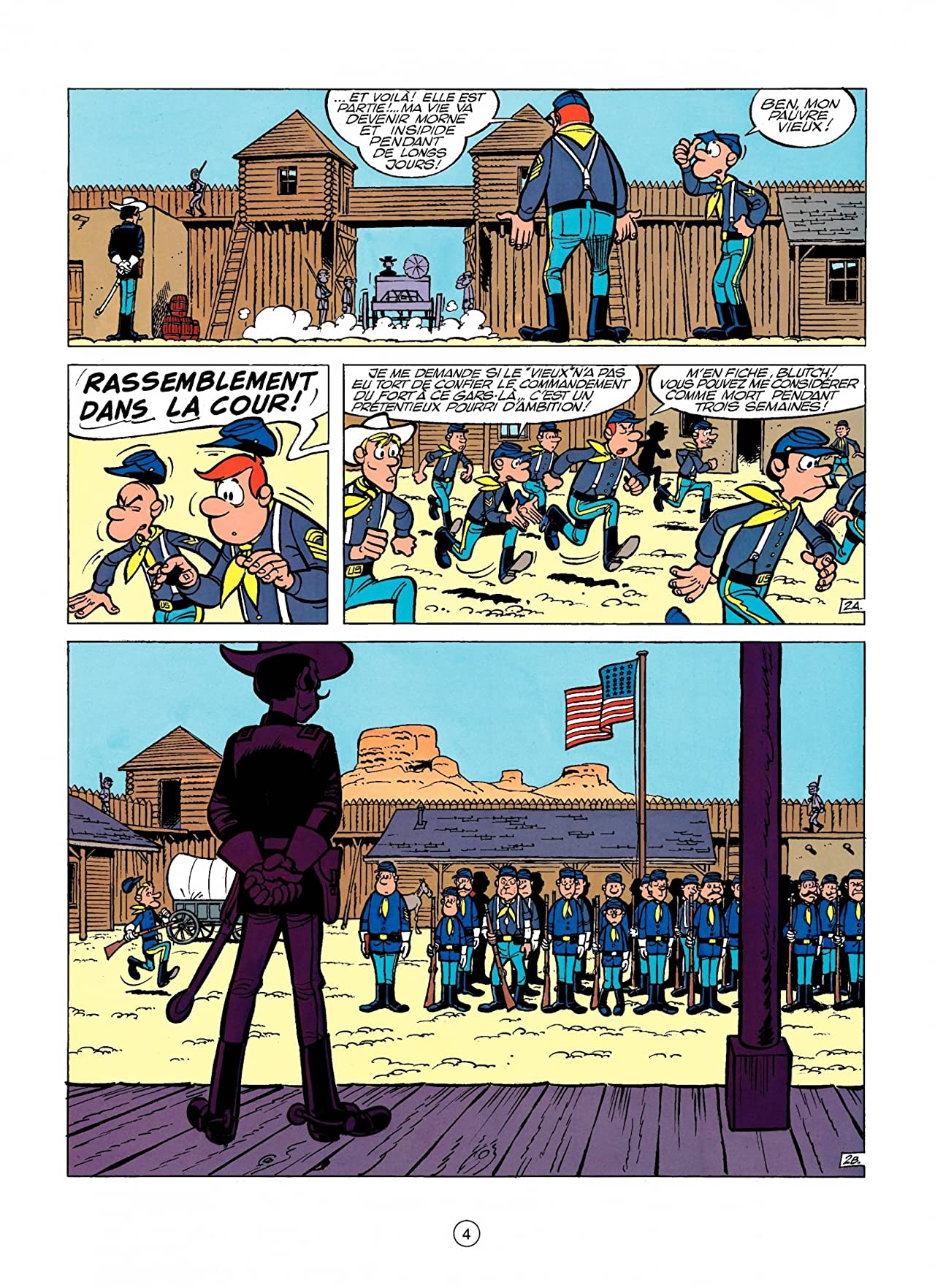 Les Tuniques Bleues Vol. 5: LES DESERTEURS