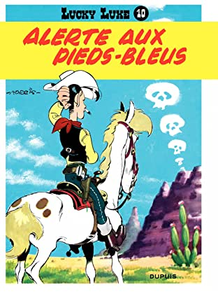 Lucky Luke Tome 10: ALERTE AUX PIEDS BLEUS