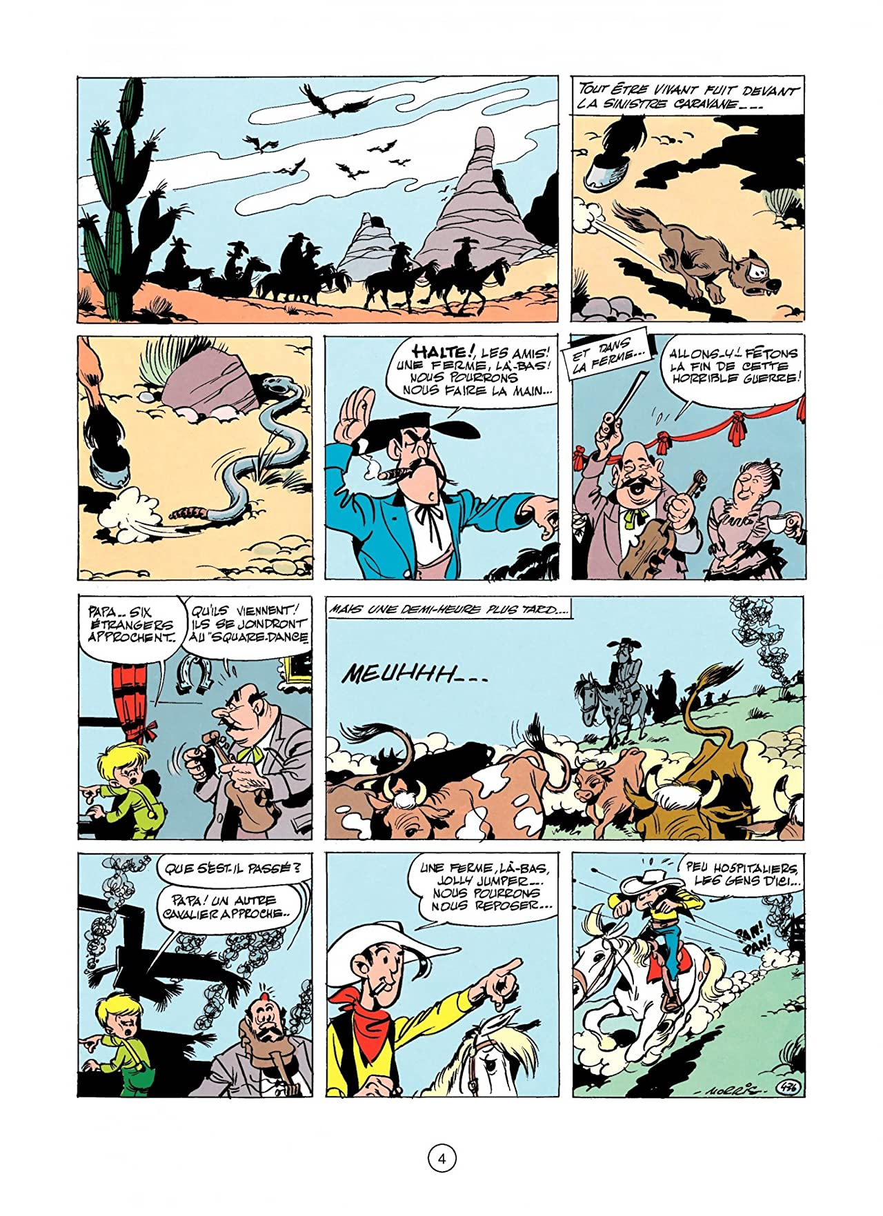 Lucky Luke Tome 11: LUCKY LUKE CONTRE JOSS JAMON