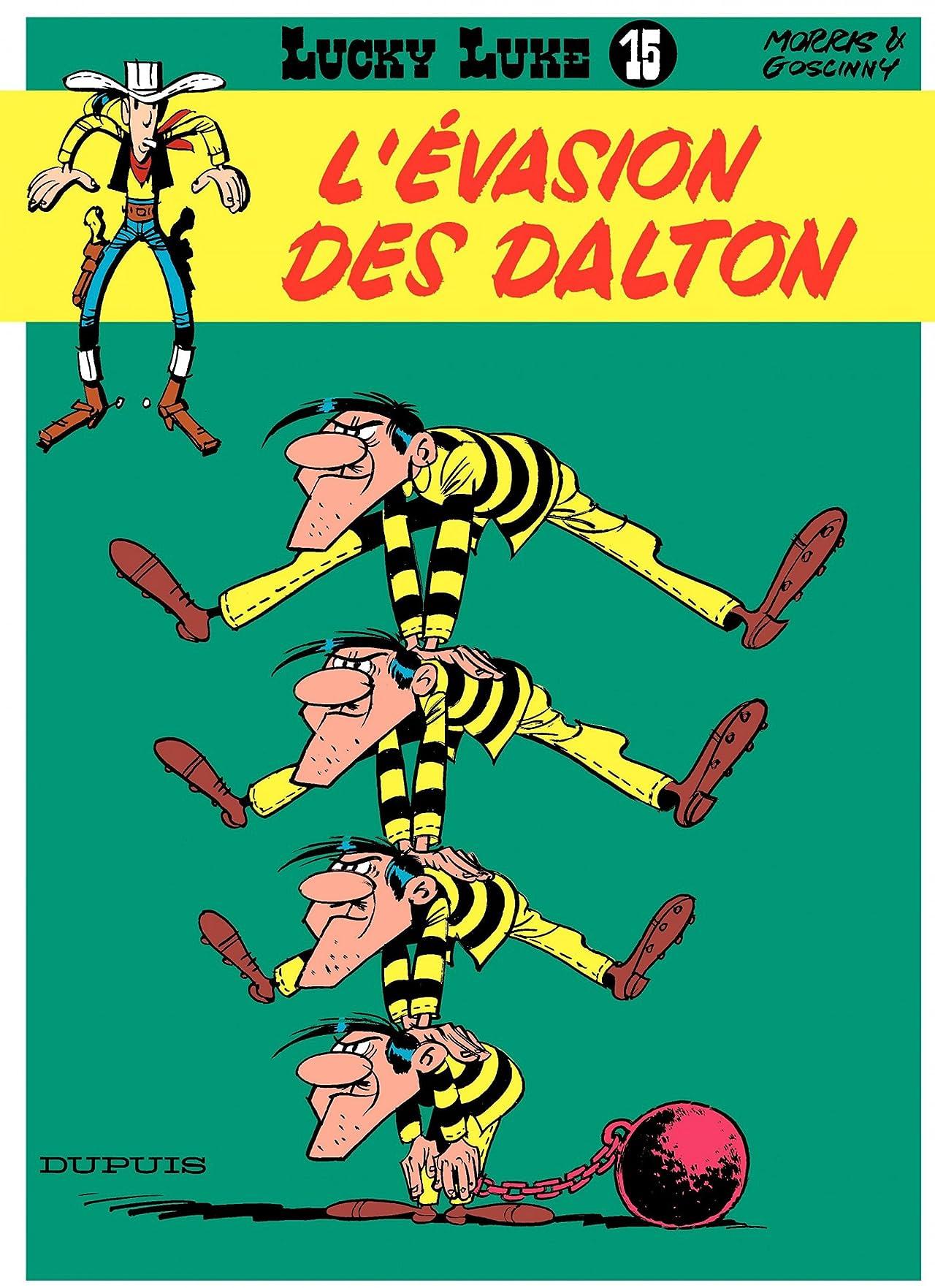 Lucky Luke Vol. 15: L'EVASION DES DALTON