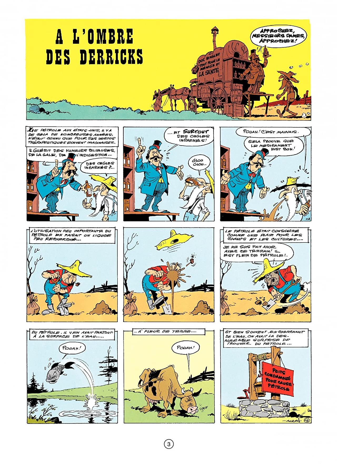 Lucky Luke Vol. 18: A L'OMBRE DES DERRICKS