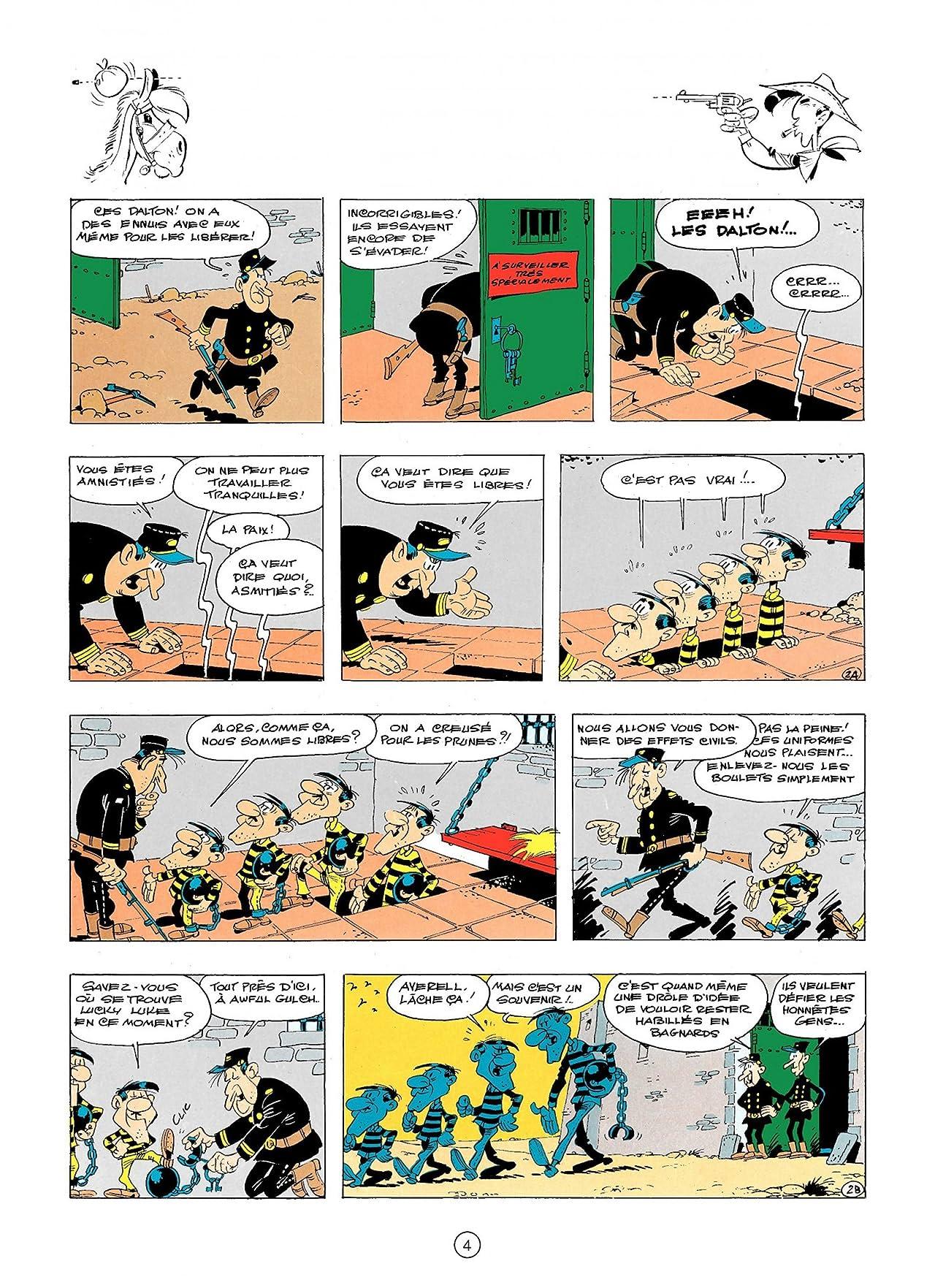 Lucky Luke Vol. 23: LES DALTONS COURENT TOUJOURS