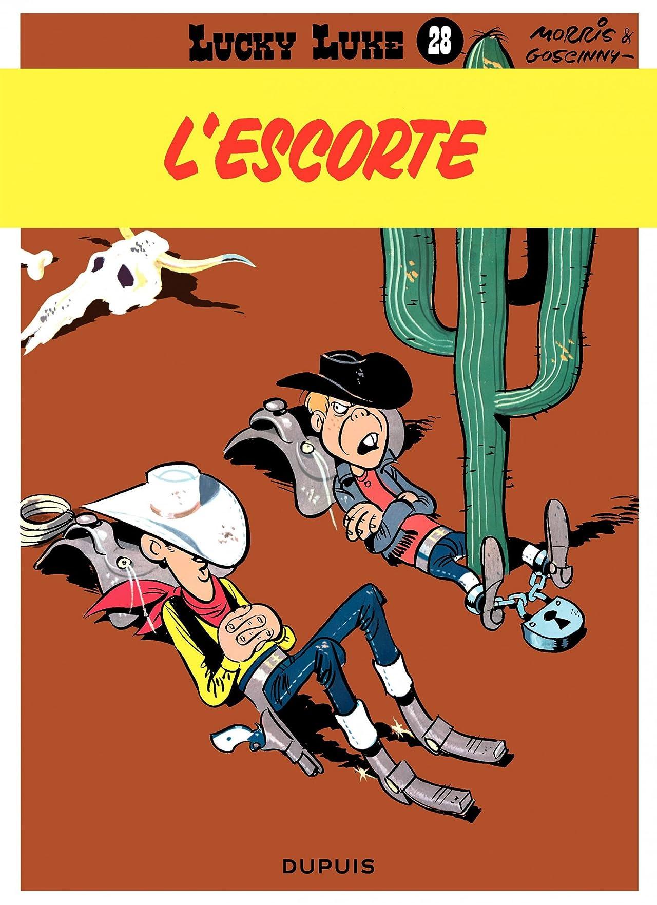 Lucky Luke Vol. 28: L'ESCORTE